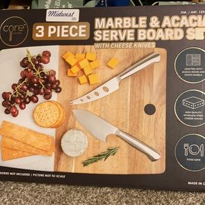 Other - New in box. 3 pc Serving Board Set